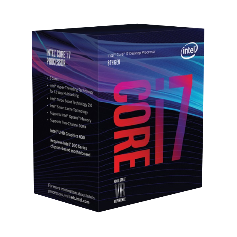 Intel Core i7 8700K 3.7 GHz