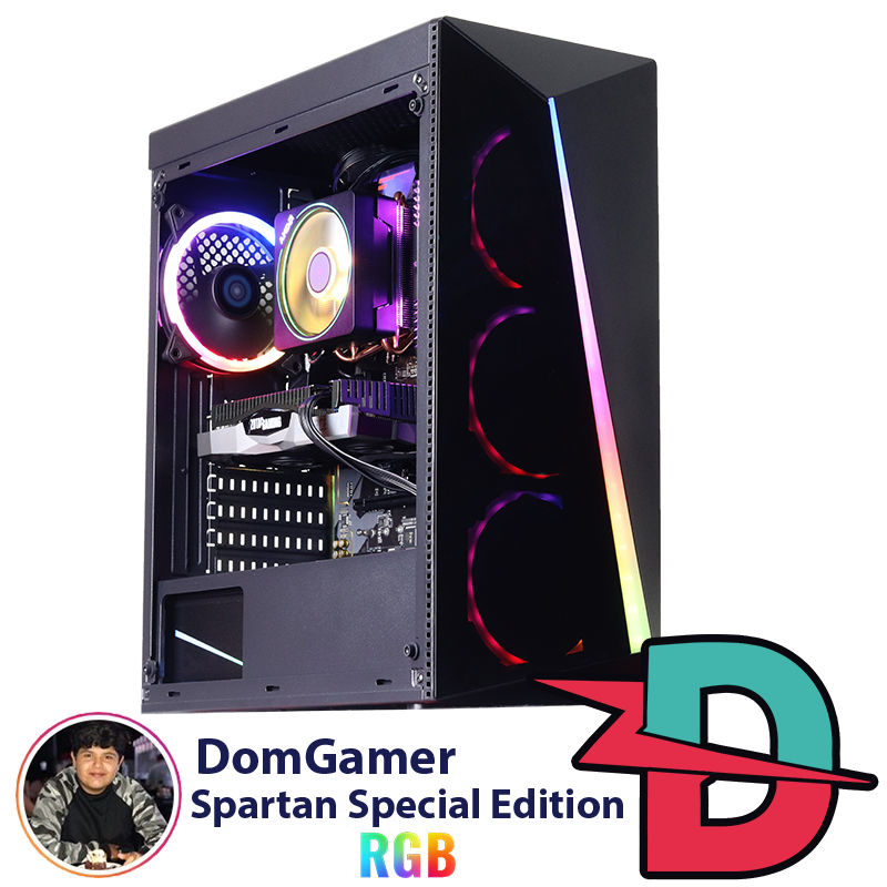PC Gamer Spartan DomGamer Special Edition RGB