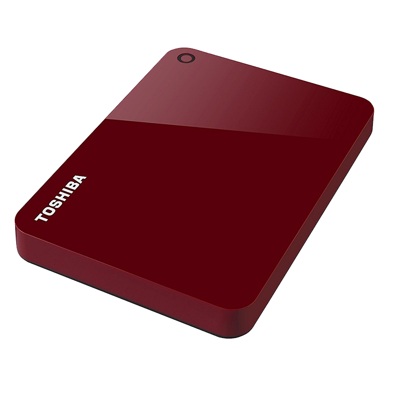 Disco Duro Externo Canvio Advance Rojo 1TB