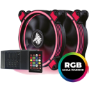 Kit Ventiladores Eagle Warrior RGB
