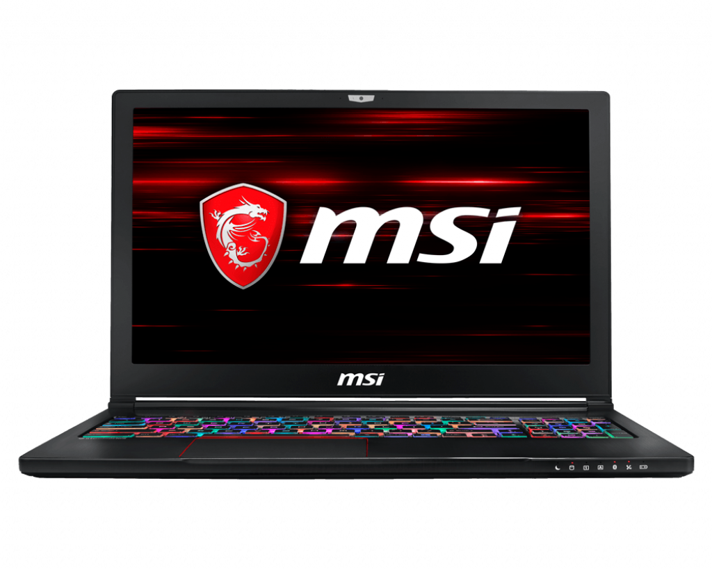 "Laptop MSI GS63 8RE 15.6"", Intel i7, GTX1060 6GB."
