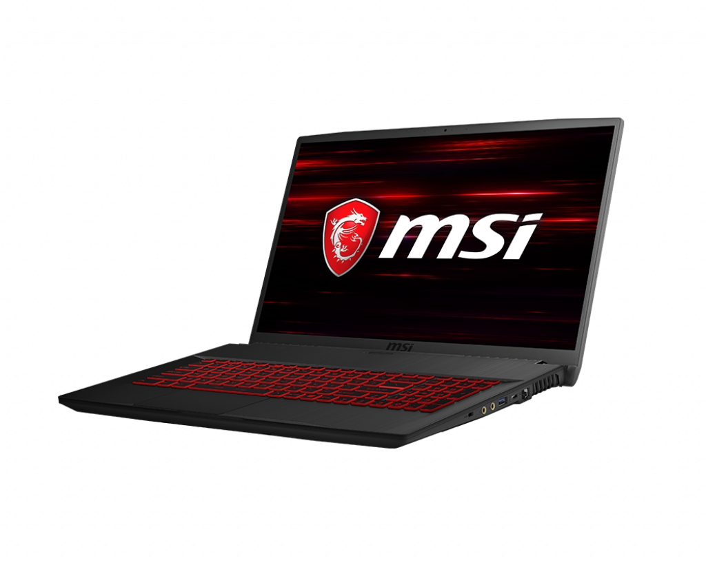 "Laptop MSI GF75 8SC 17.3"", Intel i7, GTX1650 4GB."