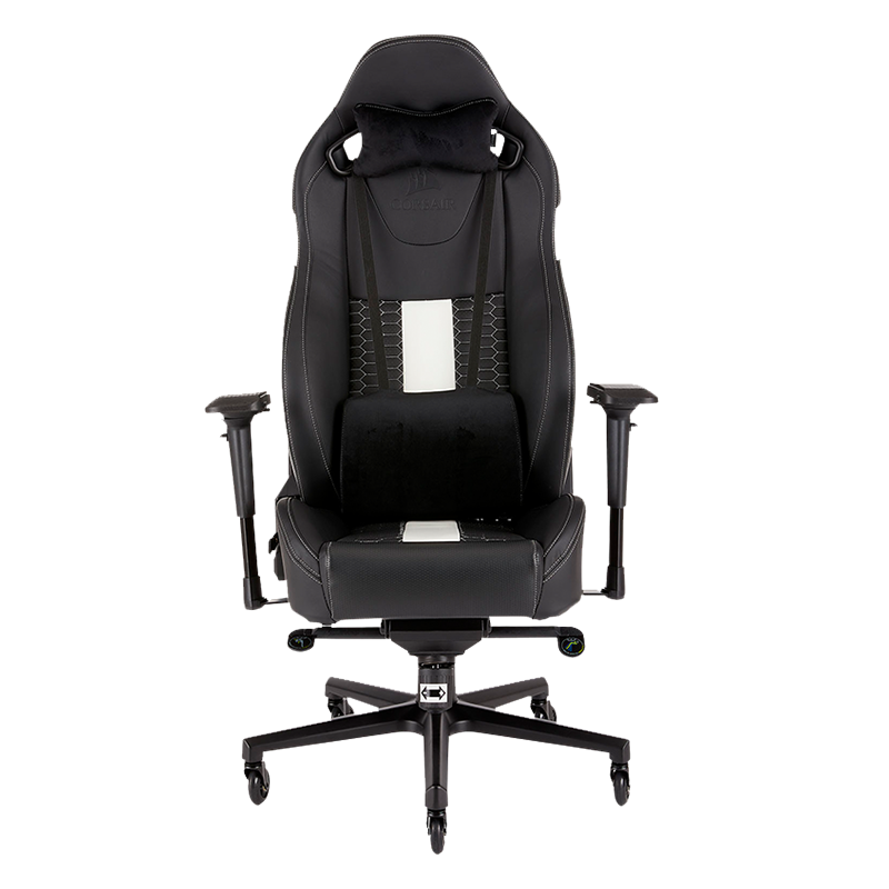 Silla Gamer Corsair T2 Road Warrior Blanca
