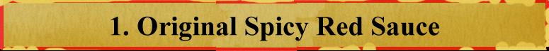 Hiden no Tare (Spicy Red Sauce)