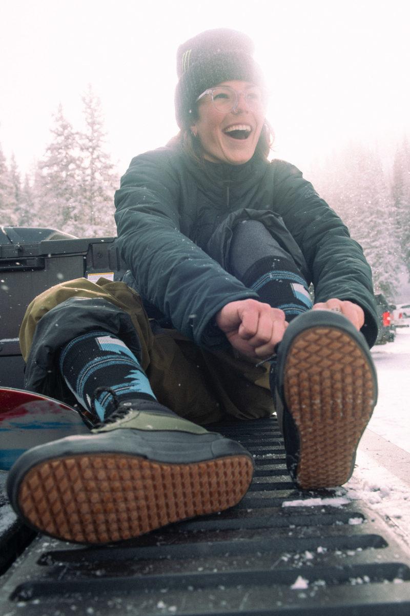 Temp Check Jill Perkins Snow Happy