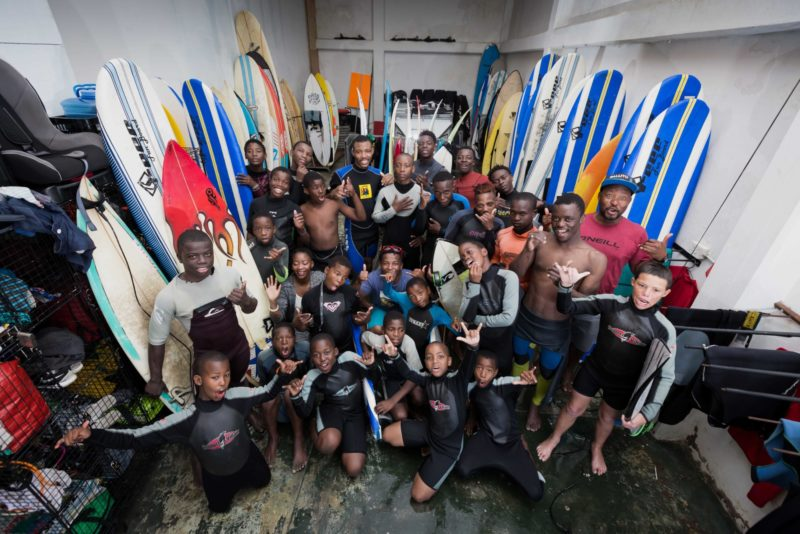 Nabil Surfers Not Street Children Group