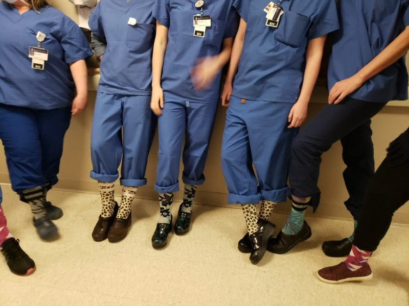 Scrubs and clogs