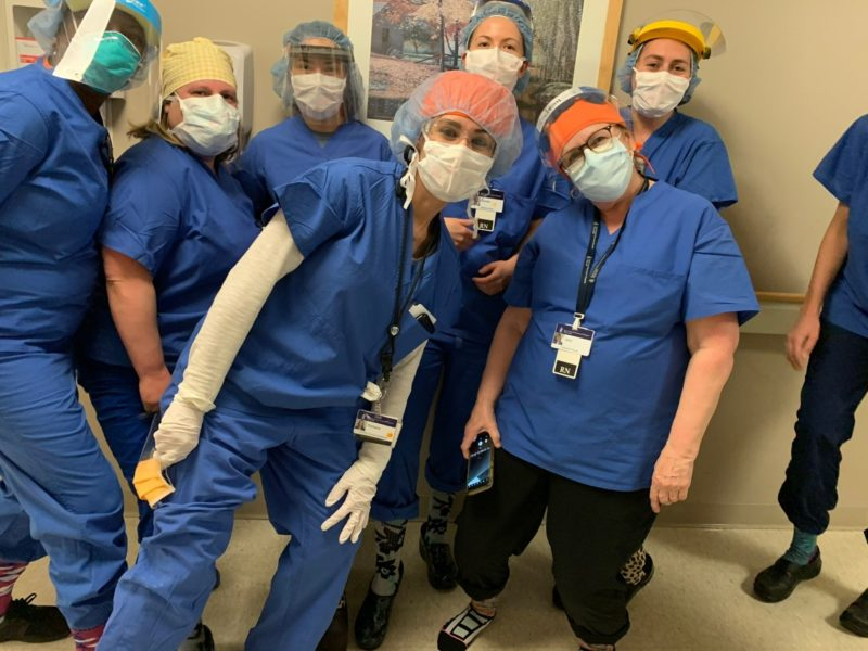 Scrubs group mask