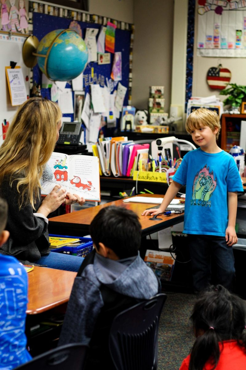 Read across america student helper