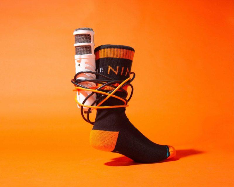Nine club sock microphone
