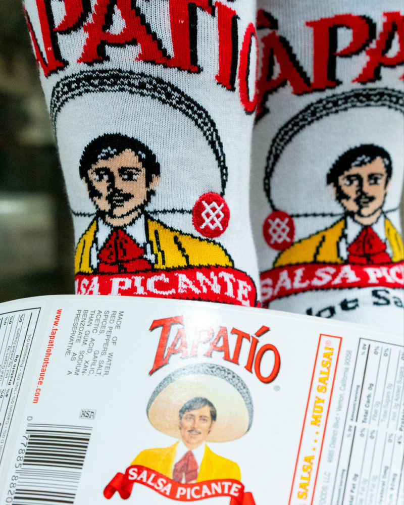 Tapatio forms closeup