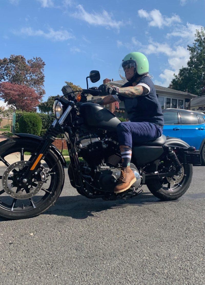 Amy osullivan motorcycle