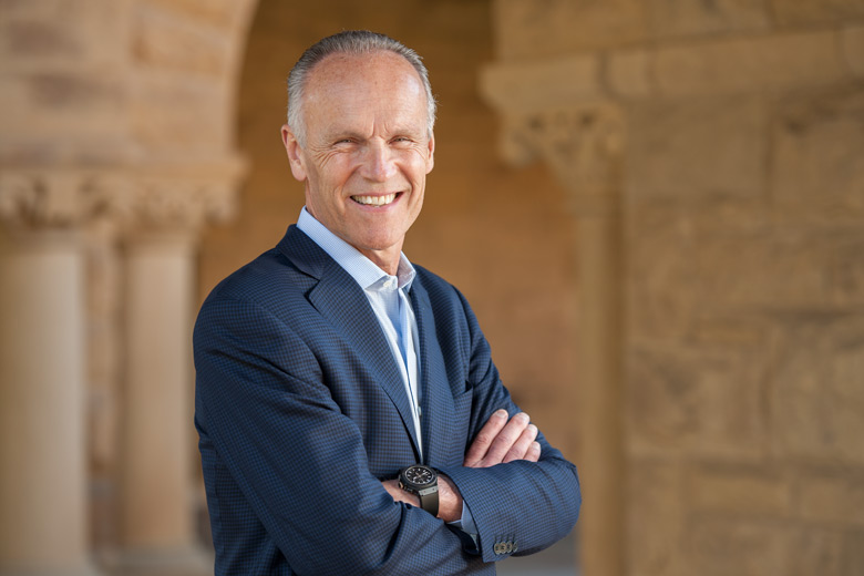 Steven A. Denning chairs the Stanford University Board of Trustees.