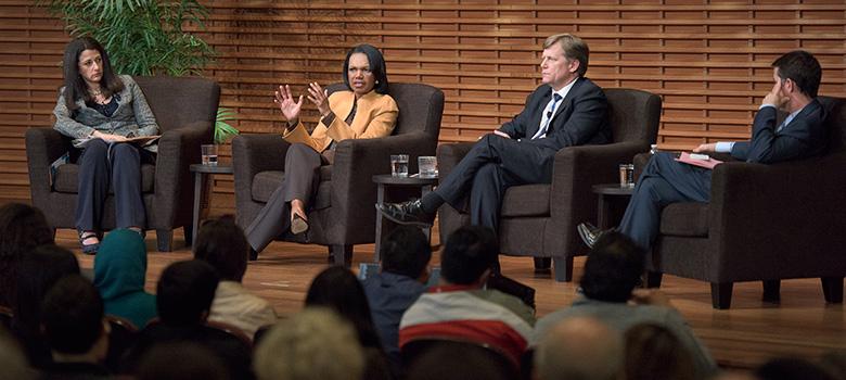 panelists Janine Zacharia