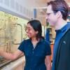 Chemistry graduate student Aanindeeta Banerjee and Assistant Professor Matthew Kanan