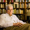Rene Girard in his library / L.A. Cicero