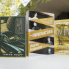 display of the three books in the summer reading program / L.A. Cicero