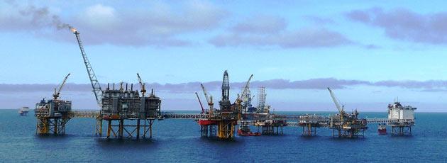 Offshore oilfields