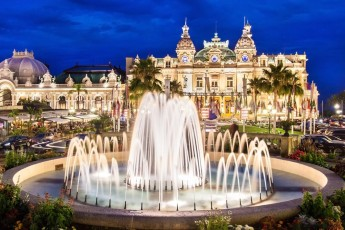 Monte Carlo casino in Monaco.