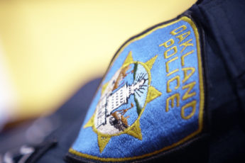 Oakland Police Department sleeve badge