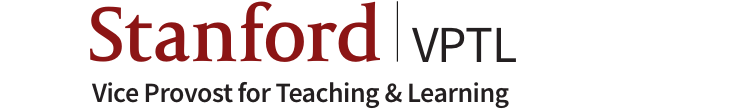 Stanford Vice Provost for Teaching & Learning logo