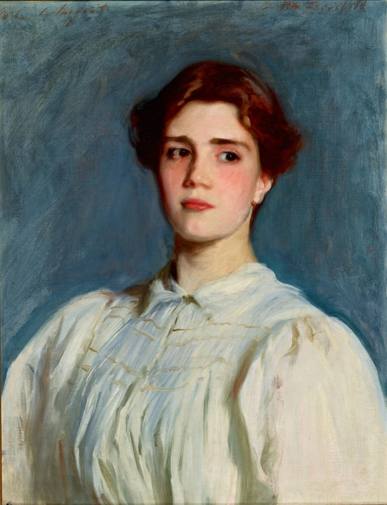 Sargent painting of Sally Fairchild