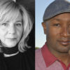 portraits of Lori Jakiela and T. Geronimo Johnson