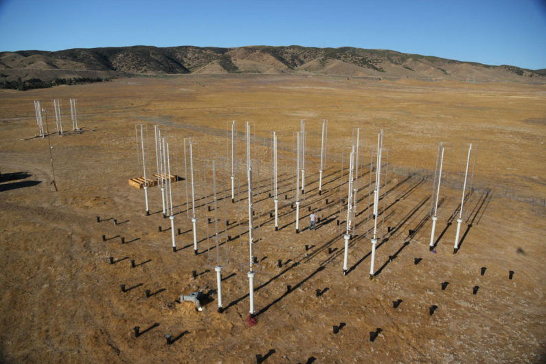 wind turbine test site