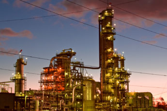 El Segundo Chevron oil refinery in Los Angeles