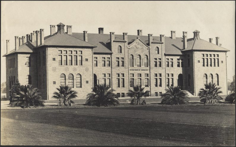 "Old Chem served as the workhorse of the Department of Chemistry for more than 80 years. It was among the ""noble"" building's constructed as part of university co-founder Jane Stanford's vision for the university."