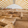Archaeological excavation at Neolithic site Catalhoyuk, Turkey
