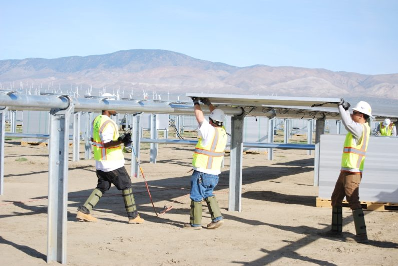 Solar Generating Station in Kern County