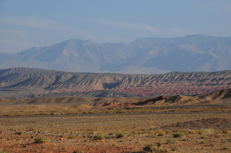 The Hangay Mountains of central Mongolia today serve as a large topographic barrier blocking moisture from reaching the Gobi Desert and interior Asia. Stanford doctoral candidate Jeremy Kesner Caves examined the uplift of the Hangay in the early Neogene, which may have helped to initiate aridification of interior Asia.