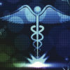 caduceus with other medical symbols