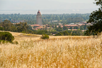 Stanford seen from Dish