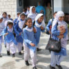 School girls in Abbottabad, Pakistan