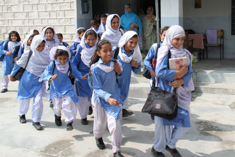 School girls in Abbottabad