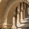 Sandstone columns and arches