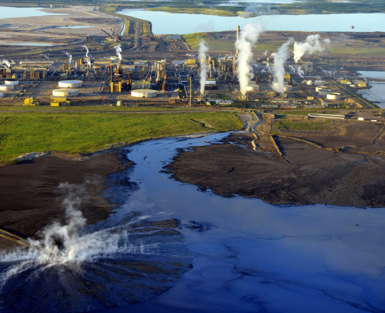 Athabasca oil sands field