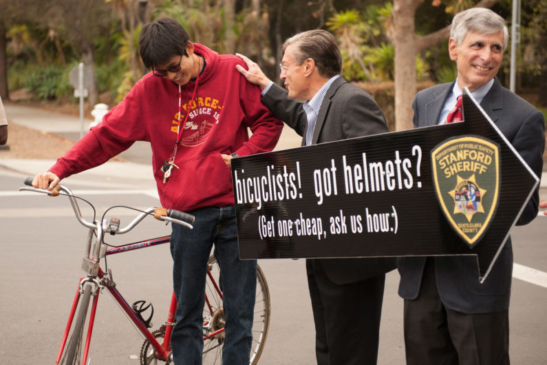 Etchemendy and bicycle safety