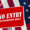 """No entry"" sign"