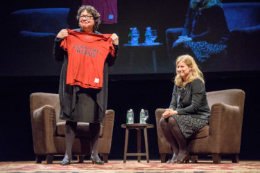 Upon receiving a Stanford Fear the Nerds T-shirt, Justice Sotomayor claimed pride in being a nerd since childhood.
