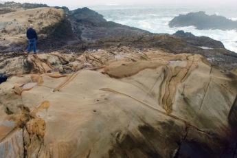 scenic view at Point Lobos State Natural Reserve near Montery, Califorina