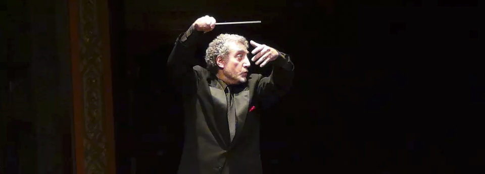 Paul Phillips conducting music