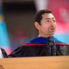 Mariano-Florentino Cuellar speaking at Commencement ceremony