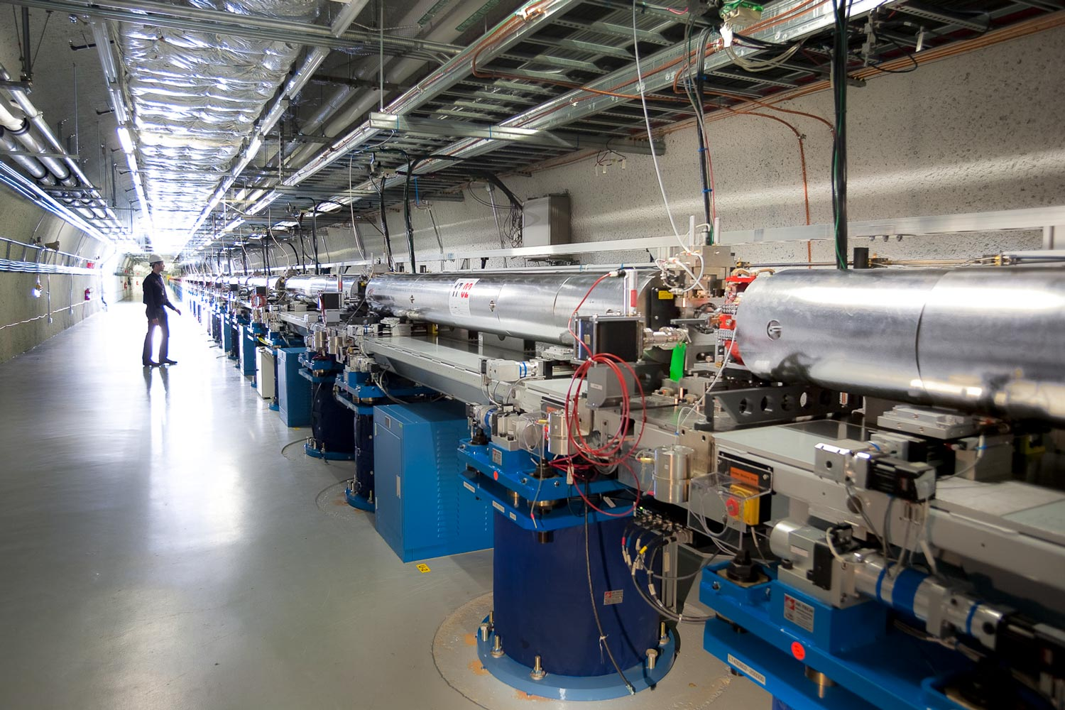 Undulator Hall at Linac Coherent Light Source, SLAC National Accelerator Laboratory