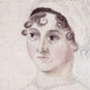 Drawing of Jane Austen