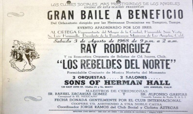 Poster advertising dance