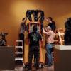 Cantor crew installs sculpture