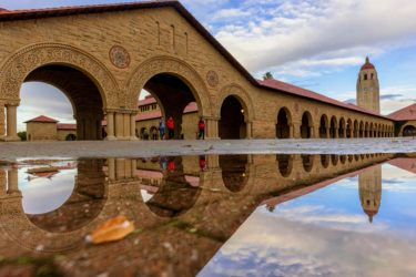 Main quad reflection